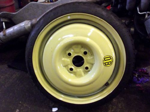 "Wheel, spacesaver spare, 15"", Mazda MX-5 mk2.5, USED"